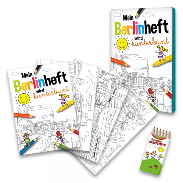 Malbuch Berlin-Set