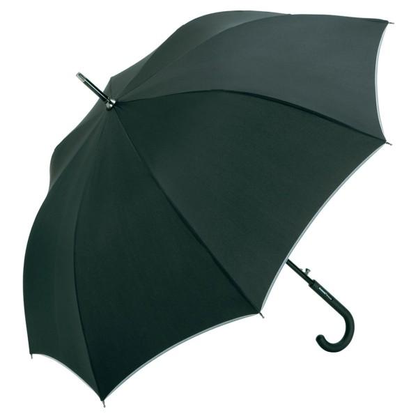 AC-Alu-Midsize-Stockschirm Windmatic Black Edition